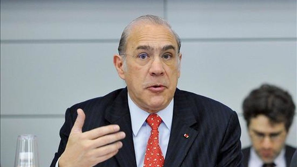 El secretario general de la Organización para la Cooperación y el Desarrollo Económico (OCDE), el mexicano Ángel Gurría. EFE/Archivo