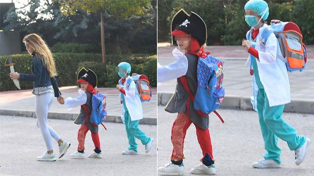 Los hijos de Blanca Cuesta ¡pirata y cirujano!