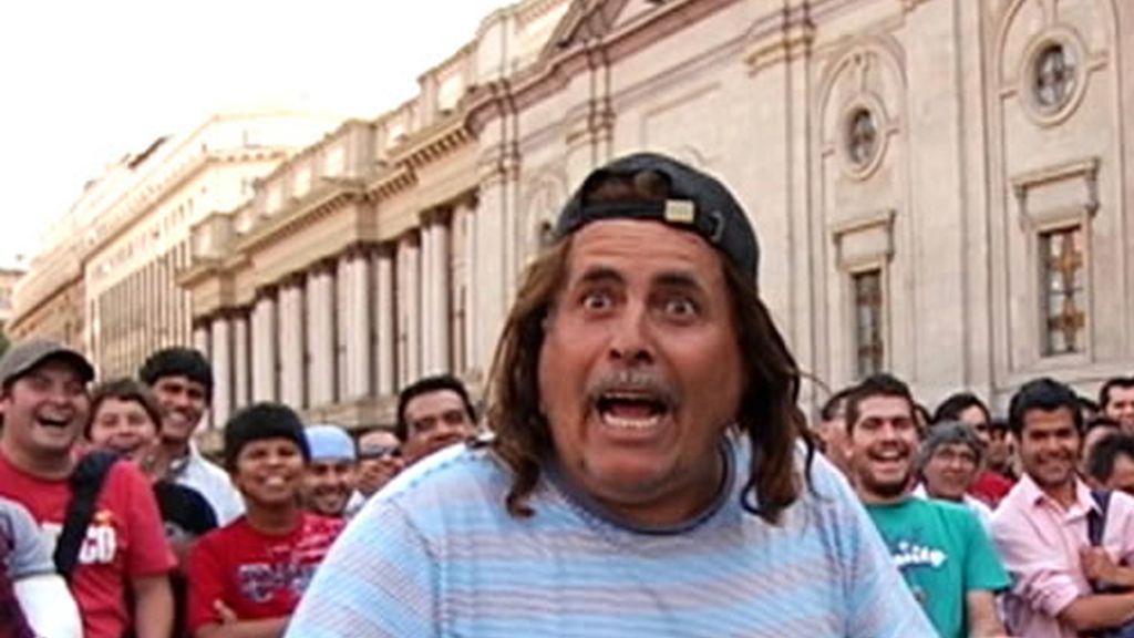 Espectáculo callejeros chileno