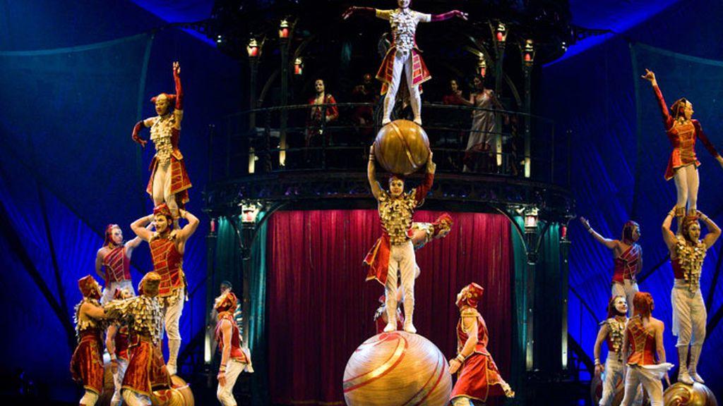 Kooza .el nuevo espectáculo de El circo del sol- llega a España