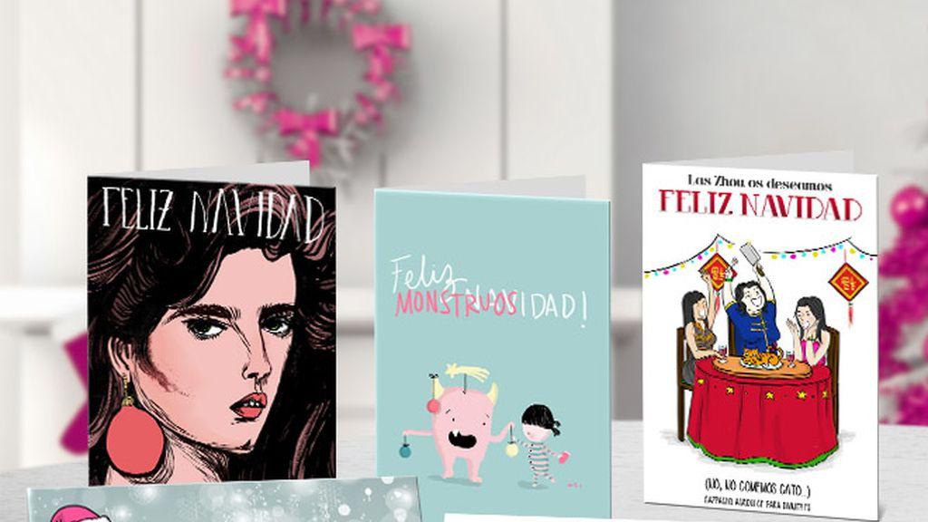 5 ilustradoras, 5 felicitaciones: ¡descárgatelas!