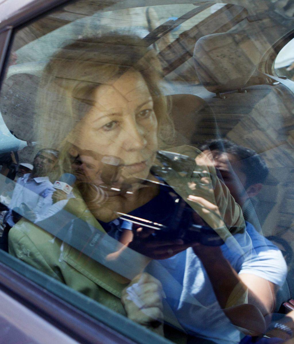 Maria Antònia Munar, camino a la cárcel de Palma de Mallorca