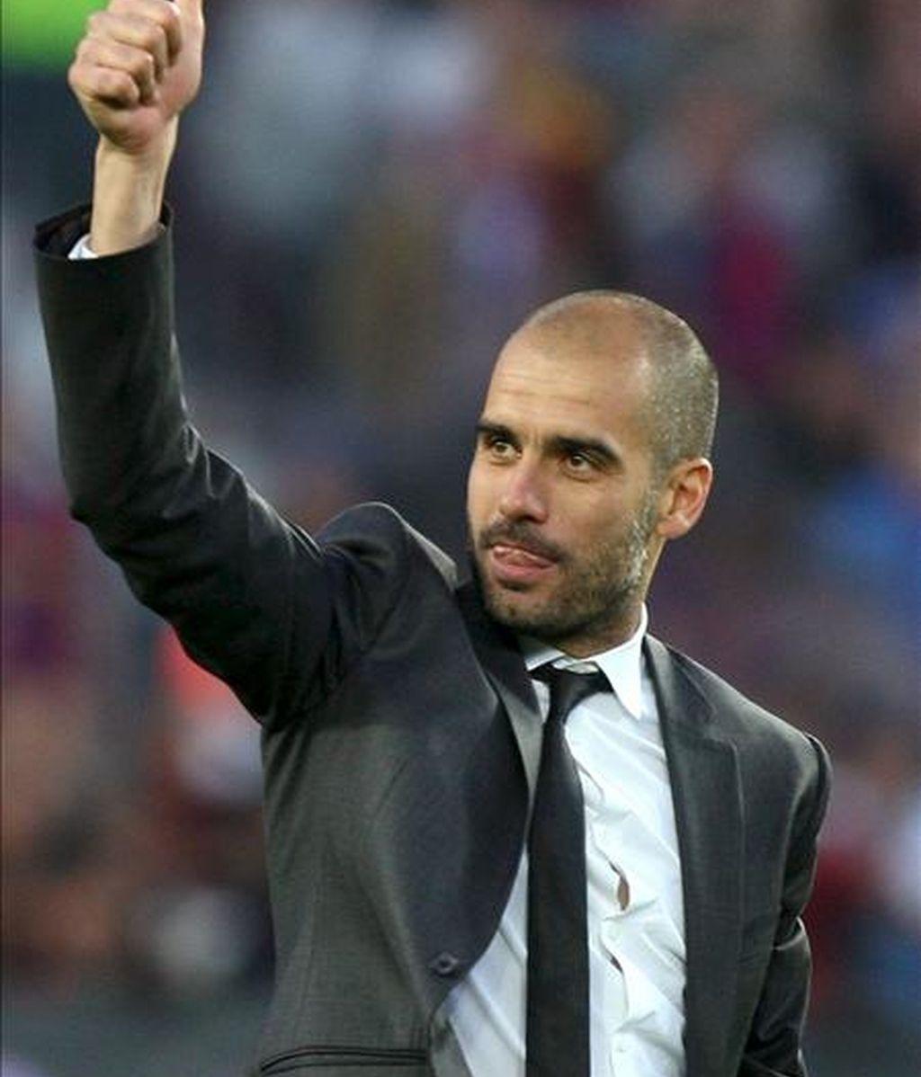 El entrenador del FC Barcelona Josep Guardiola. EFE/Archivo