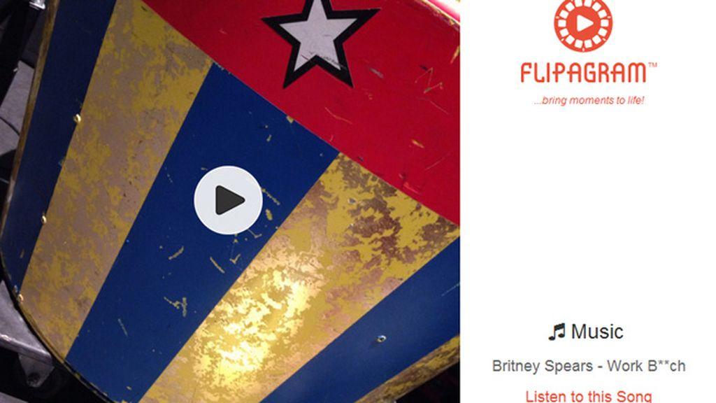 Flipagram, la app con la que las celebrities han felicitado las Fiestas