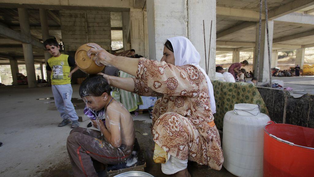 Los yazidíes, los que más sufren el acoso del Ejército islámico de yihadistas
