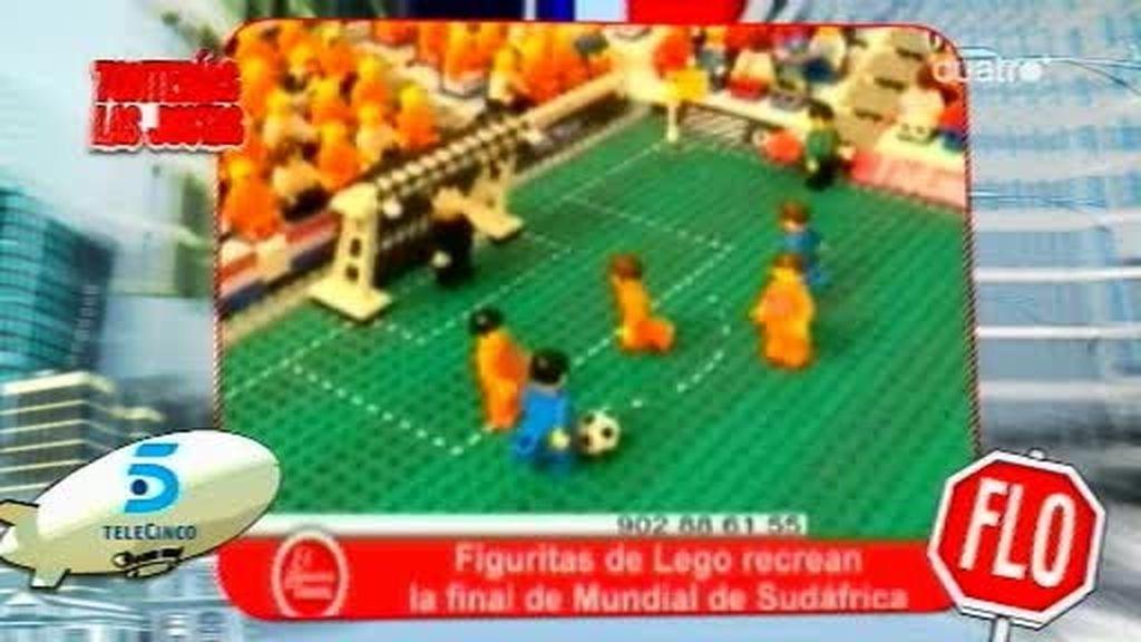 La final del Mundial, recreada con legos