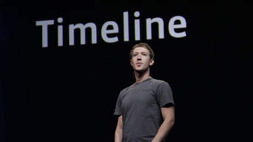 El creador de Facebook Mark Zuckerberg en la conferncia F8 FOTO:GTRES