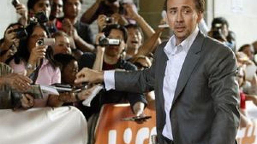 Nicolas Cage durante el estreno de su último trabajo, 'Bad Lieutenant'. Foto: Reuters