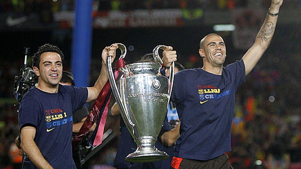 La llegada de Guardiola consagró al Barça con el triplete