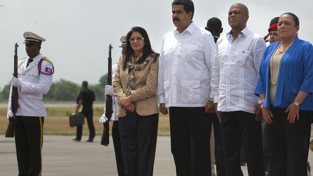 Maduro visita Haití