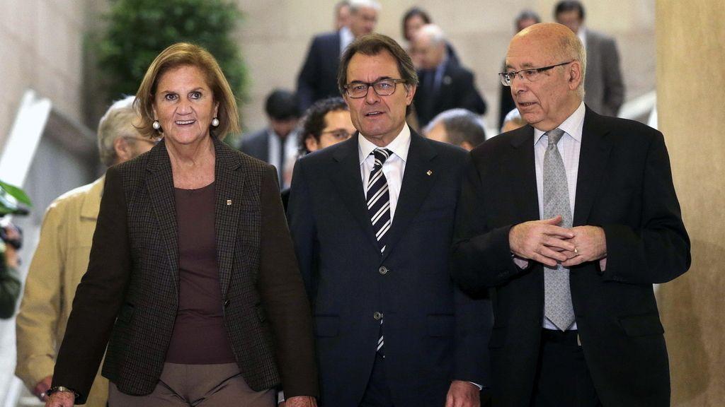 Reunión del Pacto por el derecho a decidir, dos días antes de la consulta del 9N