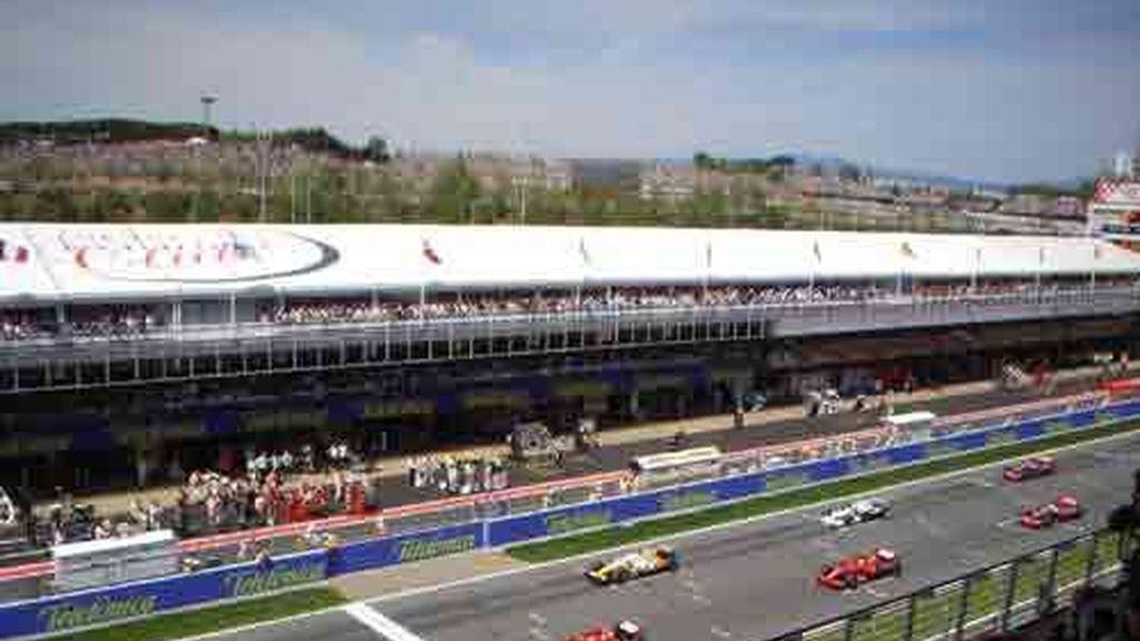 Carrera del GP de Montmeló 2008