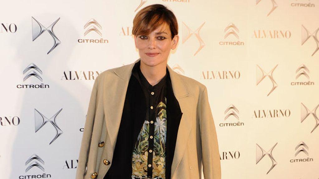 Laura Ponte también asistió al desfile de Alvarno