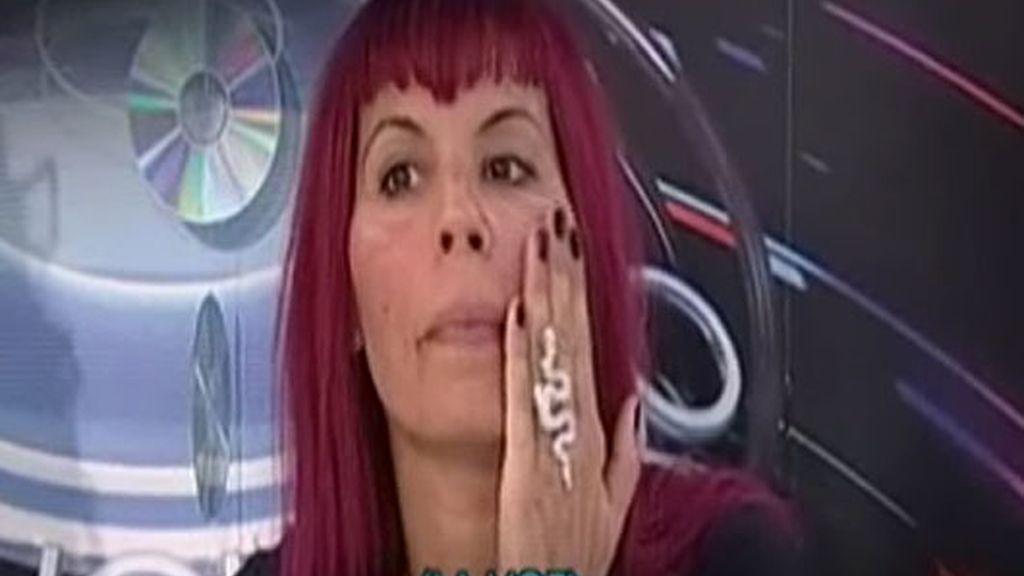 La agresión de Chiqui a Natalia