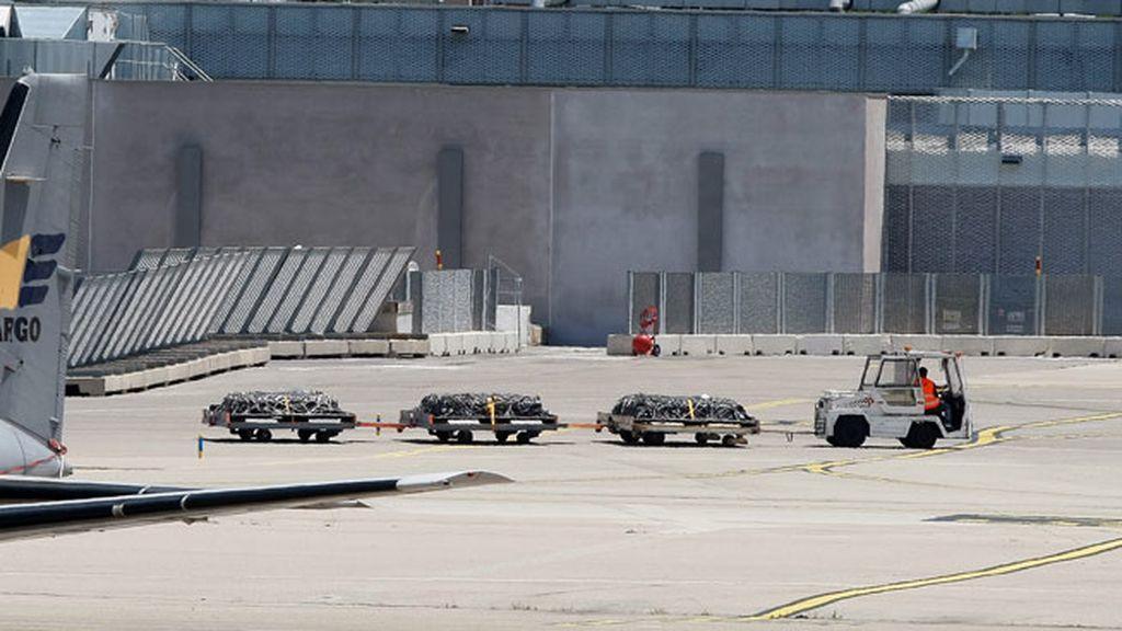 Los cuerpos de las victimas del avión estrellado de Germanwings