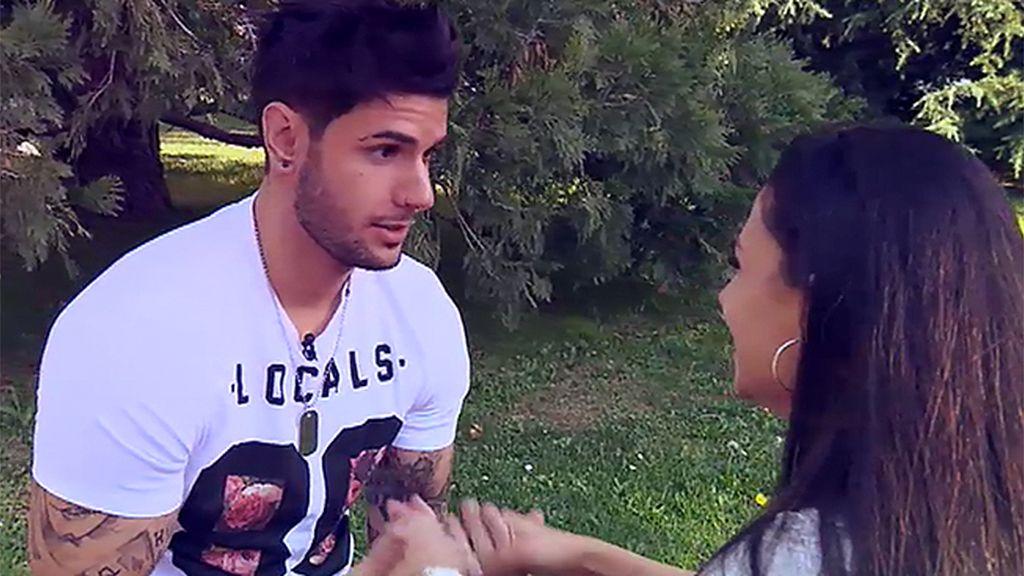 """Iván, sobre Paula: """"Una chica tan conflictiva no me da confianza"""""""