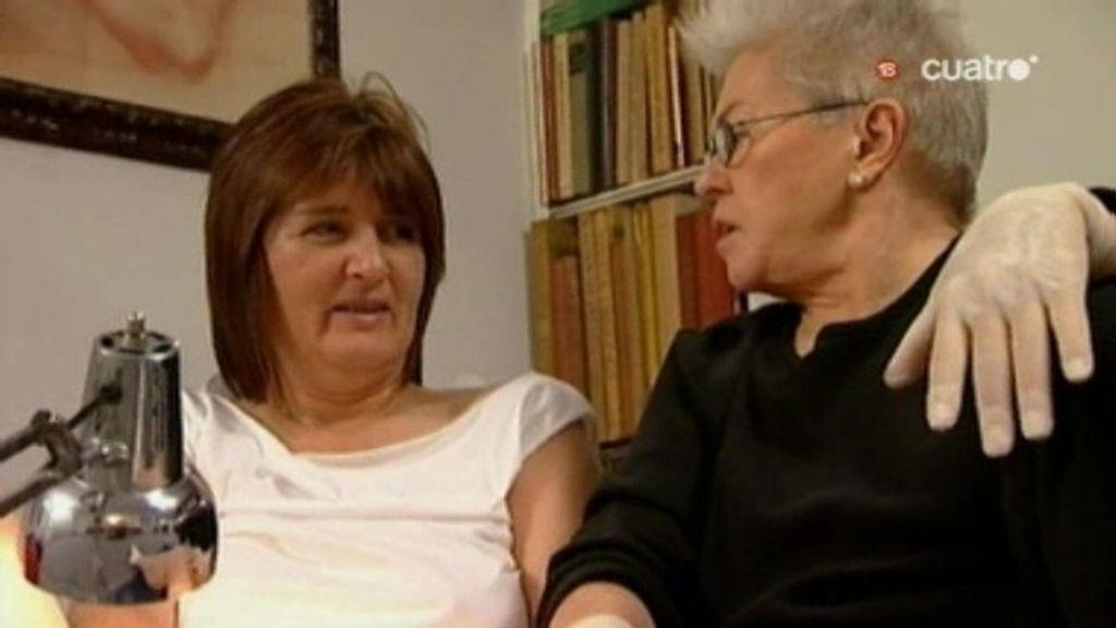 No es capaz ni siquiera de frotarse el clítoris  teme que su marido la deje