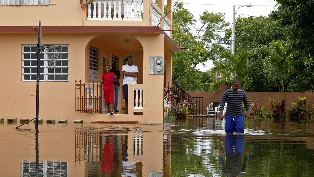 Las consecuencias del paso de Irene por Puerto Rico.