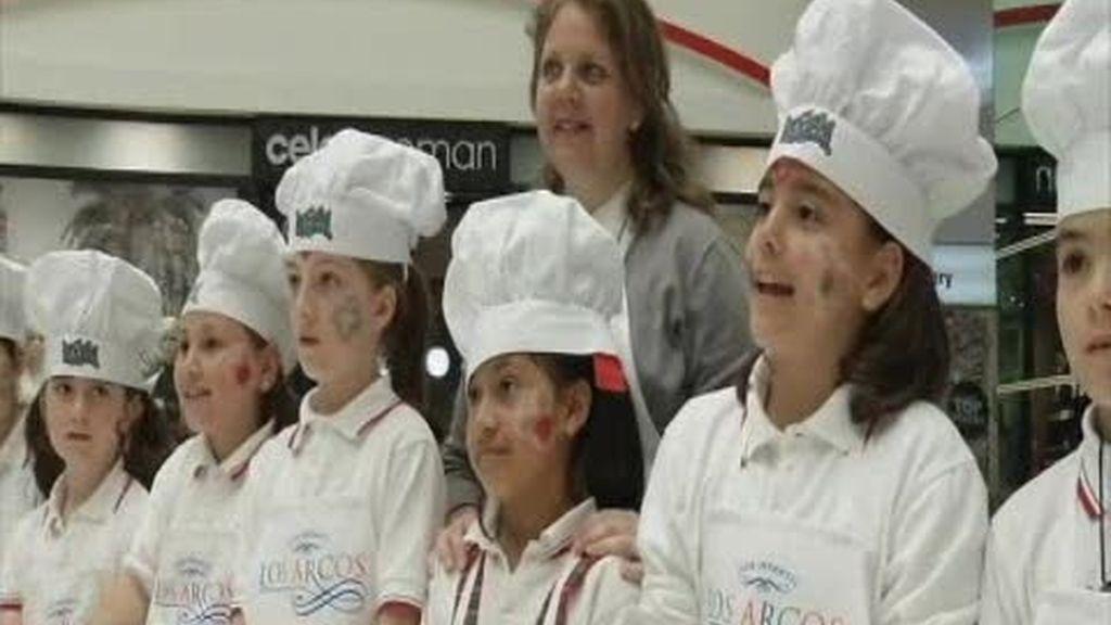 Los niños aprenden la dieta mediterránea