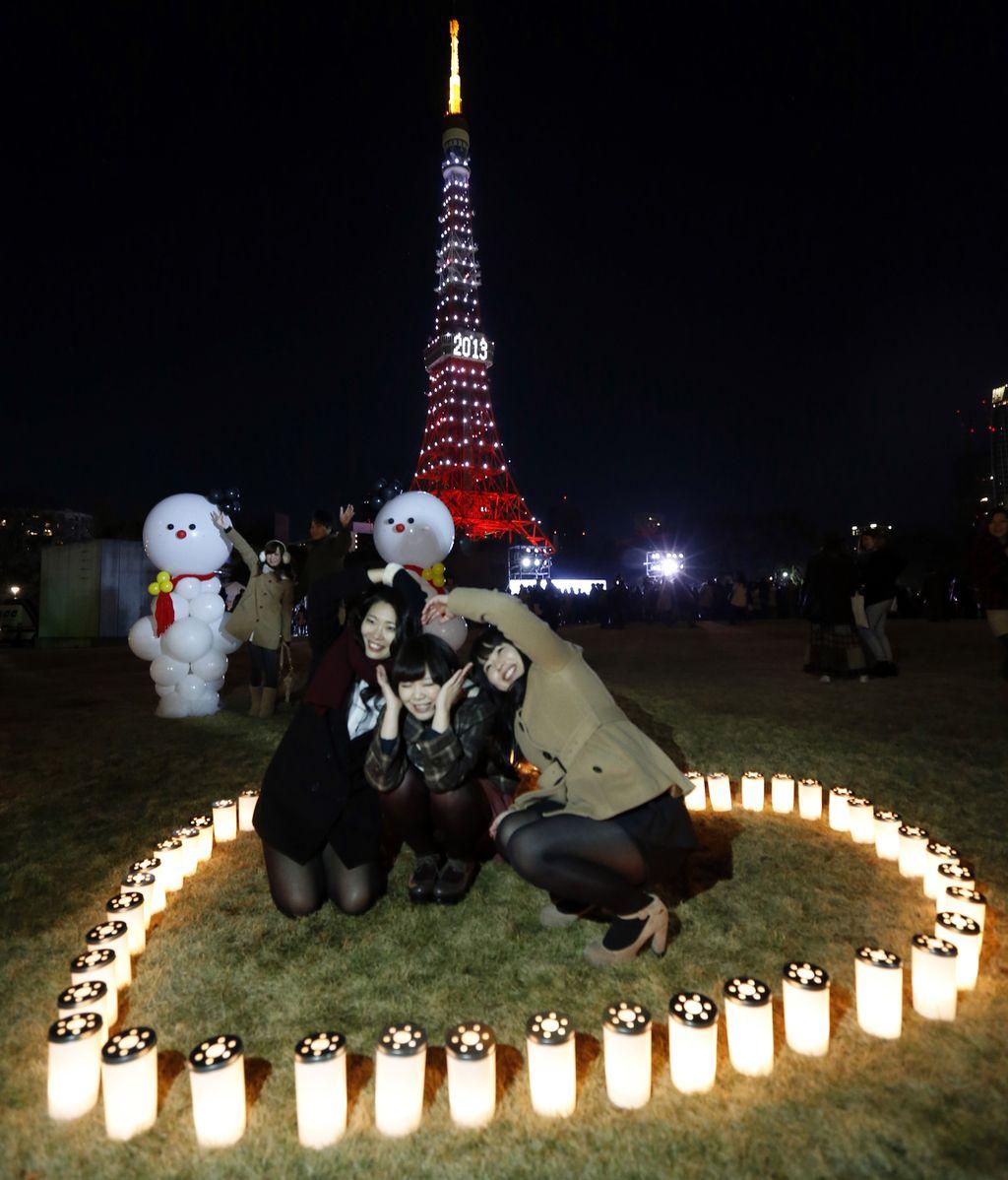 Japón celebra la llegada del nuevo año