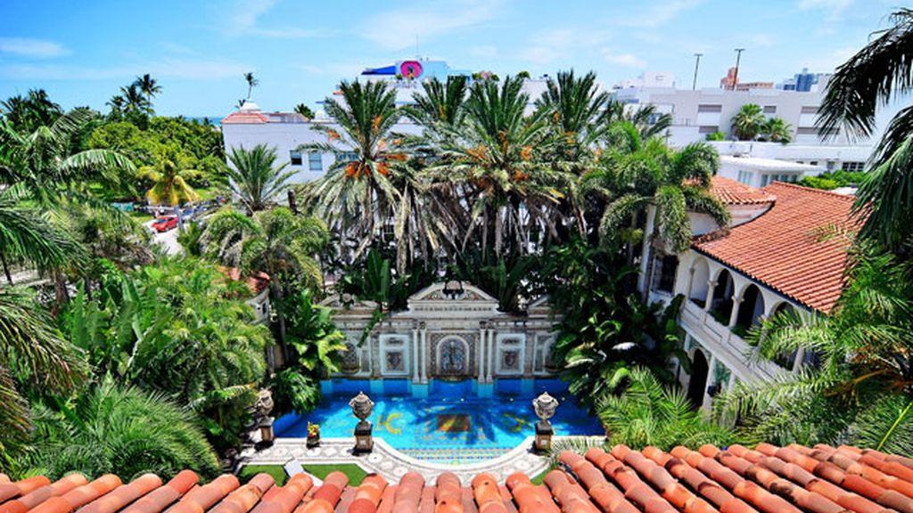 Se subasta la lujosa mansión Versace