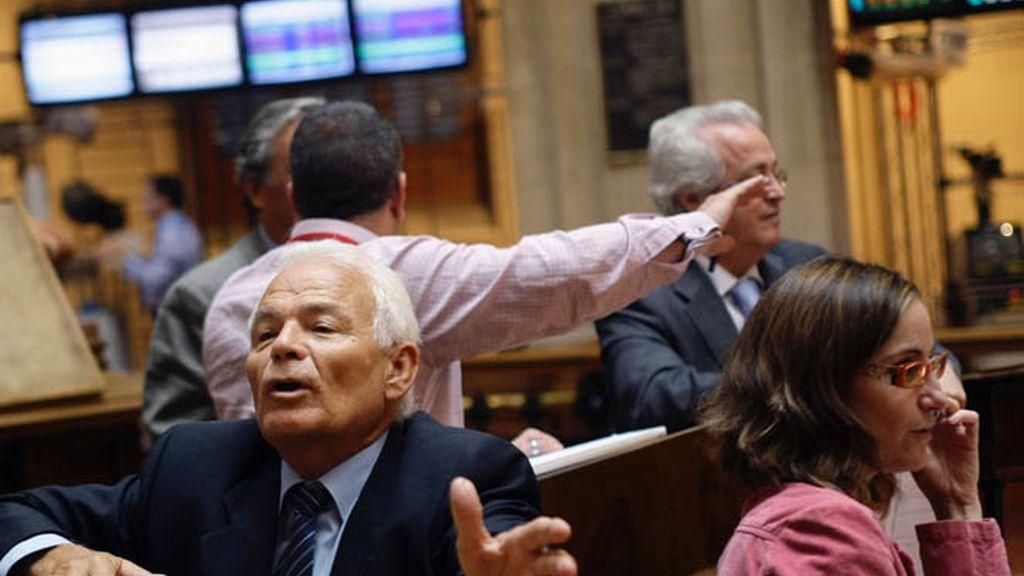 La Bolsa española acusa el miedo del mercado y el Ibex cae el 1,45 por ciento