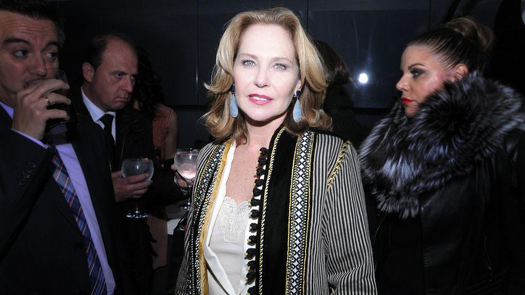 Ana Rodríguez, tal vez la mujer más elegante de la noche