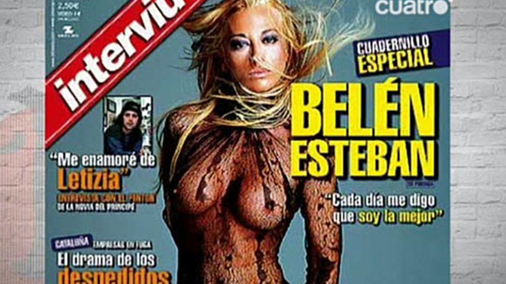 Belén Esteban protagonizó la portada de una gran tirada
