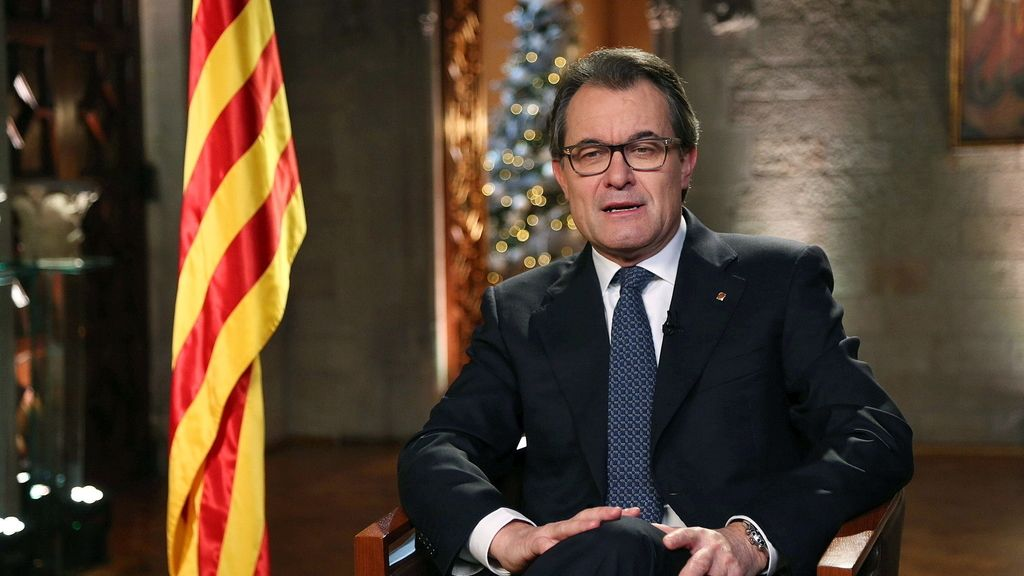 Mensaje de fin de año de Artur Mas