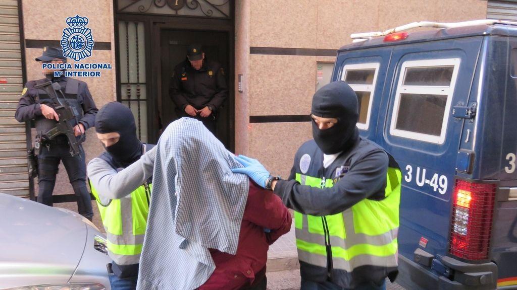Detenidos yihadistas