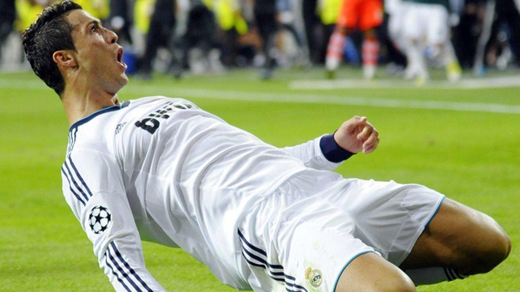 Cristiano Ronaldo celebra su gol ante el Manchester City