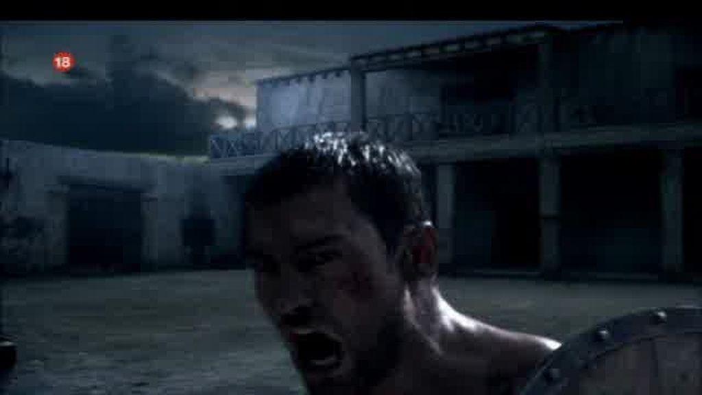 Promo Spartacus Sangre y Arena. Comienza la letenda