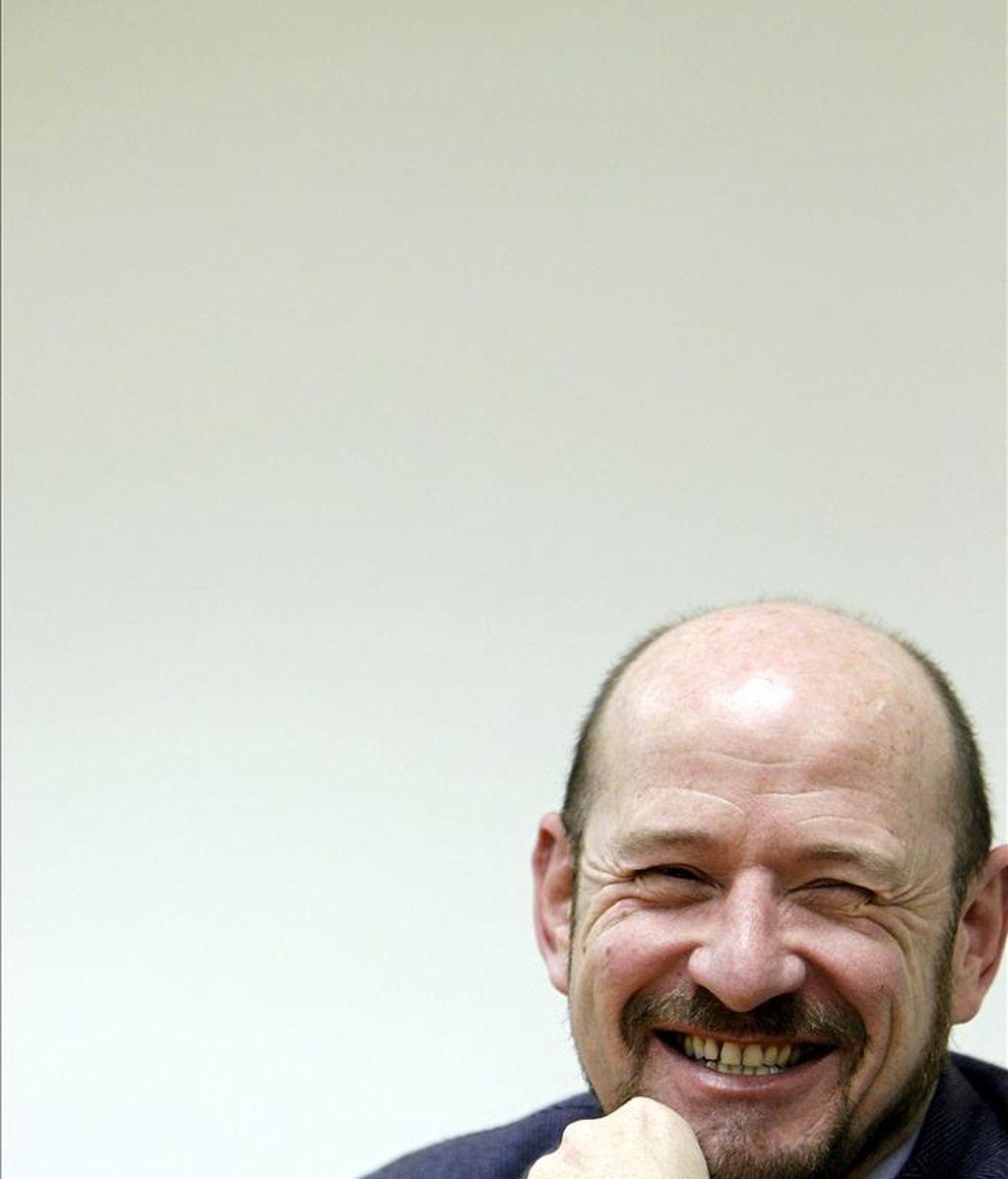 Carlos Urroz, que se estrena como director de la feria internacional de arte contemporáneo ARCO, durante una entrevista con Efe. EFE