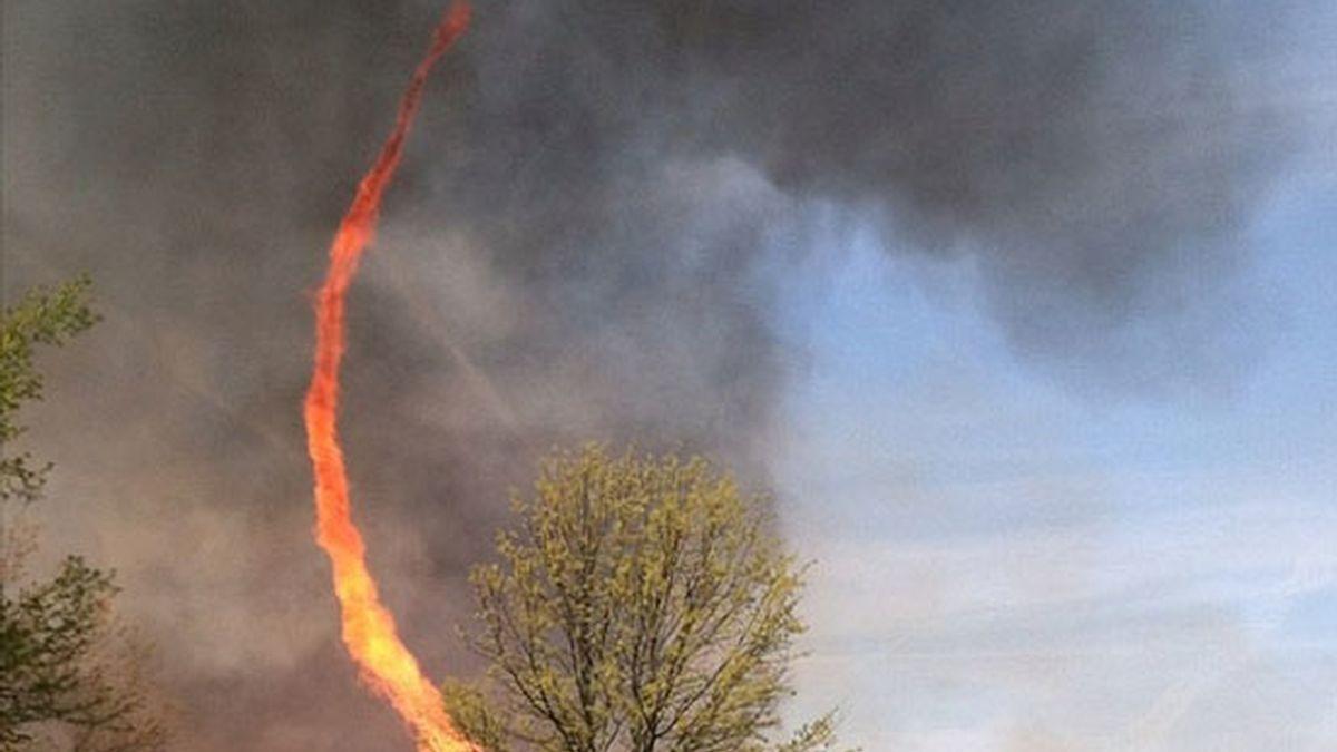 ¿Un tornado o un incendio?