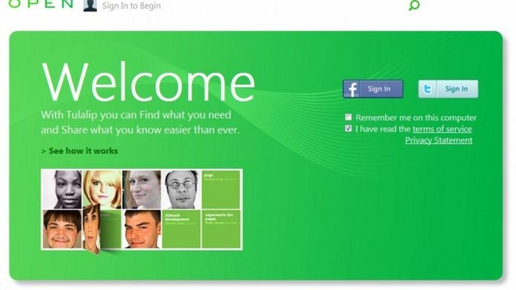 Se ha filtrado una versión preliminar de lo que parece ser una nueva red social de Microsoft, aunque algo diferente a las demás. Se llama Tulalip