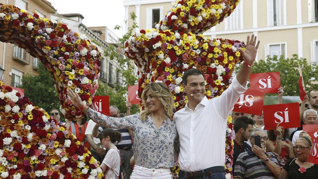 El PSOE, el primero en lanzarse a la campaña electoral