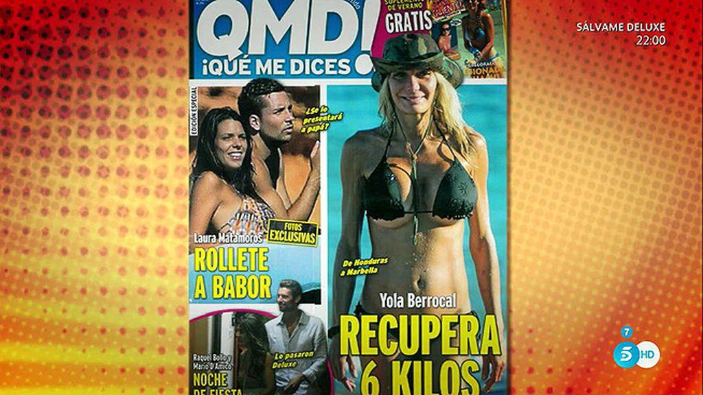 La revista 'QMD!' les capta juntos en un barco