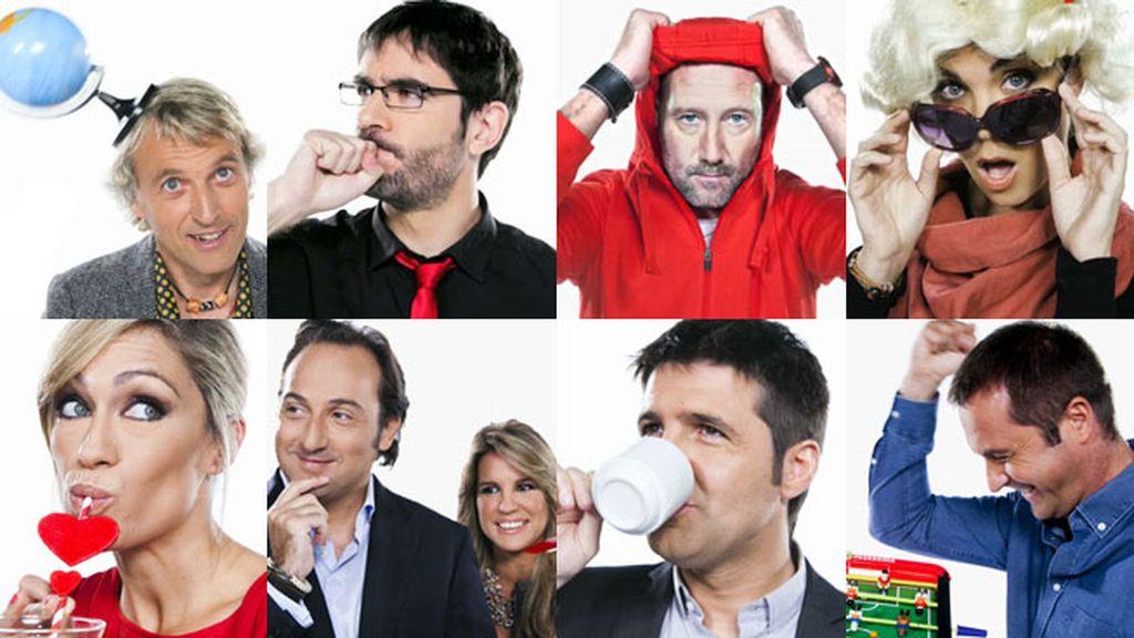 Yo soy cuatro presentadores 8