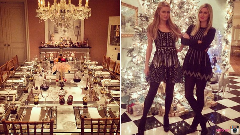 Paris y Nicky Hilton, un Acción de Gracias lleno de glamour