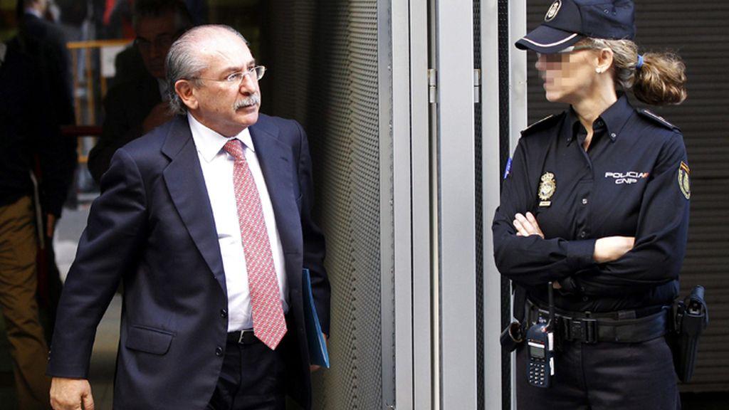 Luis del Rivero sale de la Audiencia Nacional tras la declaración del gerente del PP de Castilla-La Mancha