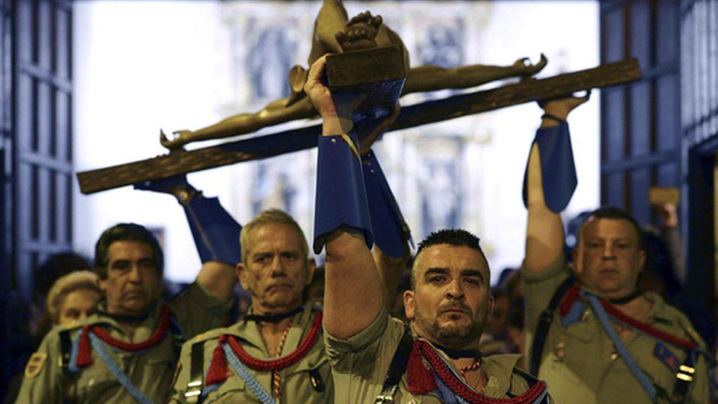 Procesión del Cristo de la Buena Muerte en Valladolid