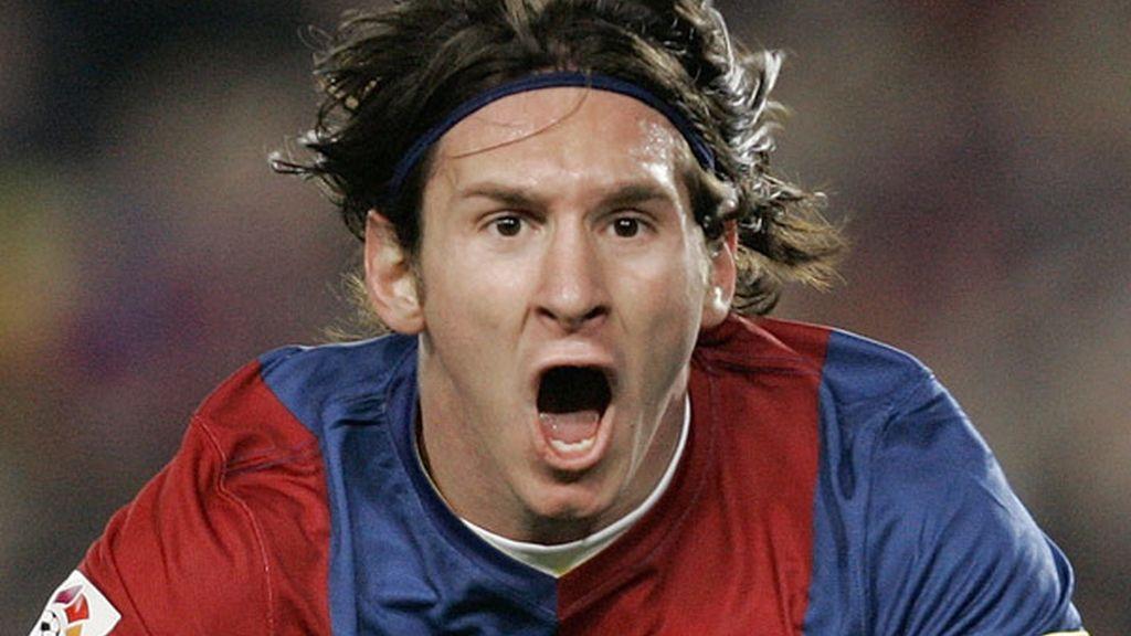 Temp. 2006/07: 'Hat-trick' de Messi