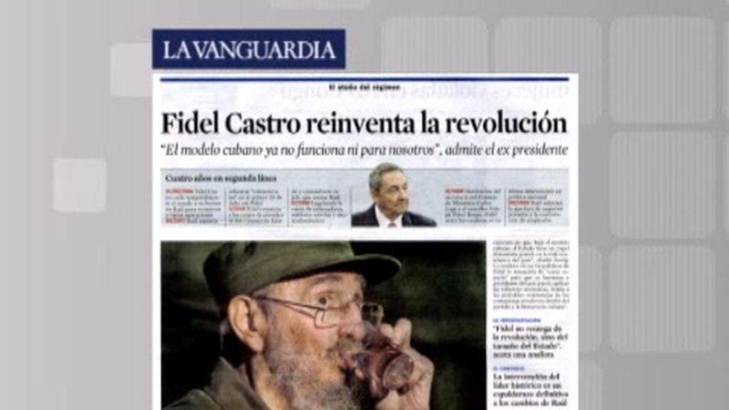 """Fidel Castro admite que el modelo cubano """"ya no funciona"""""""