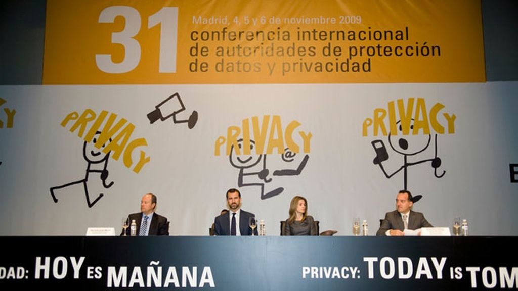 Los Príncipes en la Conferencia Internacional de Protección de Datos