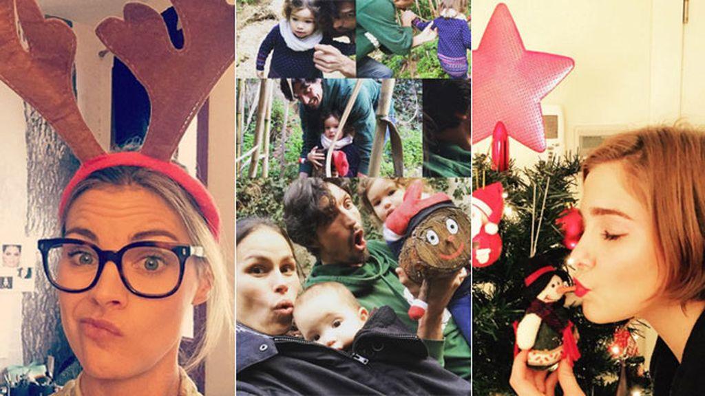 Se decantan por grandes árboles de Navidad y pasar estos días con los suyos