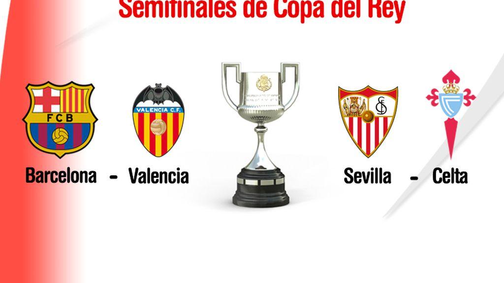 Copa del Rey semifinales