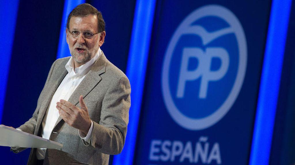 Mítin de Mariano Rajoy en Estepona, Málaga