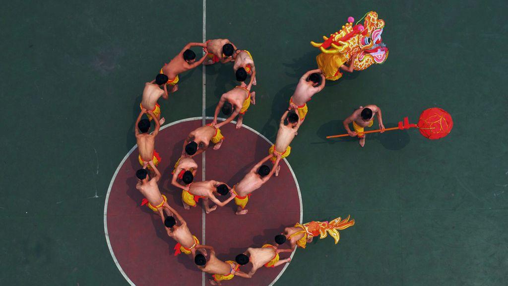 Así funcionan los dragones chinos