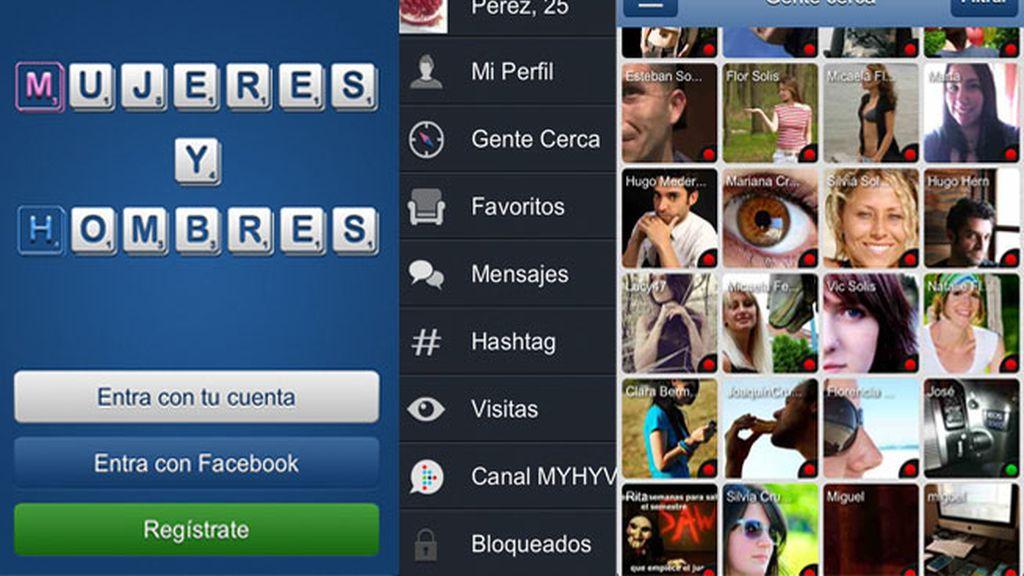 Conoce gente cerca con la App de 'Mujeres y Hombres'