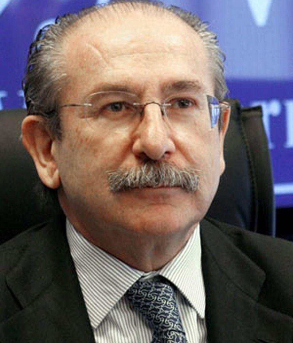 Fotografía de archivo de Luis del Rivero, que ha sido destituido como presidente de la constructora Sacyr Vallehermoso. FOTO: EFE